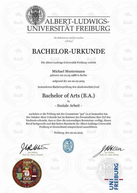 Bachelorzeugnis Beglaubigte Übersetzung